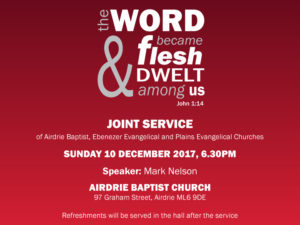 Christmas joint service 2017